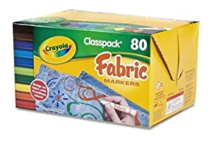Fabric Markers Classpack