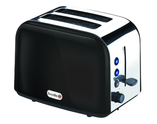 Breville VTT202 Black Stainless Steel 2 Slice Toaster from Breville