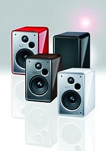 Heco Music Colors 100, Regallautsprecher, Piano White (1 Paar)