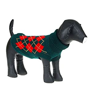 Weixinbuy Puppy Pet Dogs Cat Sweater Knit Apparel