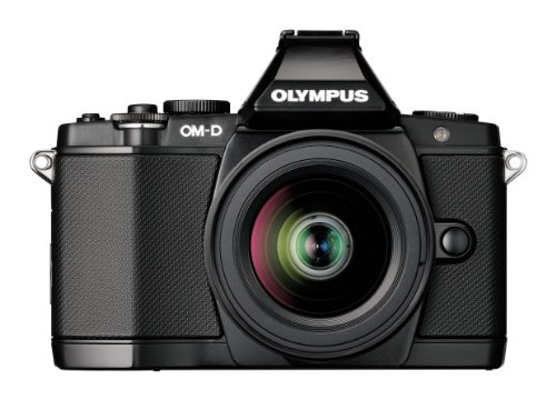 Olympus OM-D EM-5 Micro Four Thirds Interchangeable Lens Camera - Black (16.1MP, Live MOS, M.Zuiko 12-50mm Lens) 3.0 inch OLED