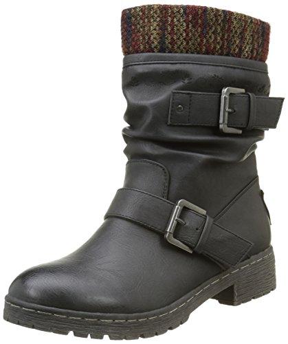 CoolwayBABEL - Stivali a metà gamba con imbottitura pesante  Donna , Nero (Nero (Blk)), 38