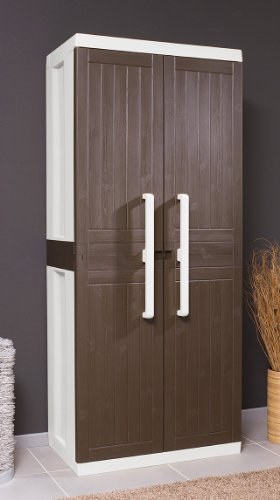 toomax art246col armoire haut 2 portes 4 etag res porte balai. Black Bedroom Furniture Sets. Home Design Ideas