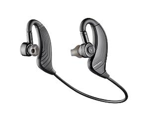 Plantronics 83800-05 - Auriculares de contorno de cuello Bluetooth, negro/gris