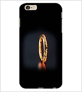 PrintDhaba Ring D-2355 Back Case Cover for APPLE IPHONE 6 (Multi-Coloured)