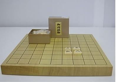 新かや卓上1寸将棋セット(竹)№124 梅商将棋盤店