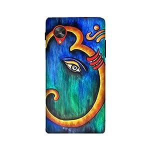 StyleO LG Google Nexus 5 Designer Printed Case & Covers Matte finish Premium Quality (LG Google Nexus 5 Back Cover) - Lord Ganesha