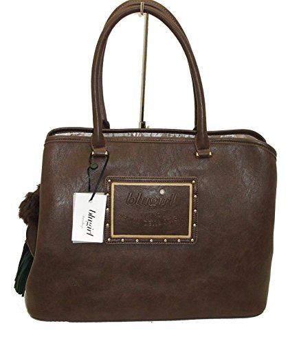 Borsa shopping due manici BLUGIRL by blumarine BG 829105 women bag marrone