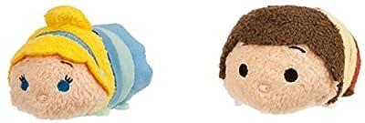 Cinderella Tsum Tsum Mini Plush Collection Cinderella and Prince for Sale