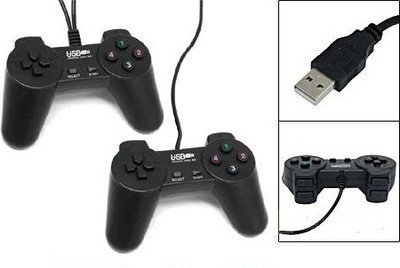 Donop New 2 Pcs USB 2.0 10-key Pc Game Controller Pad Joypad Joystick (Zelda For Wi compare prices)