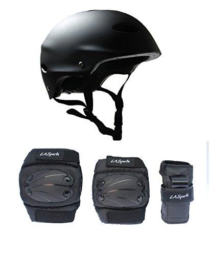 la-sports-kids-skate-helmet-6-piece-pad-set-ideal-for-bmx-skateboard-skates-and-stunt-scooters