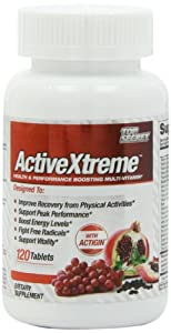 Top Secret Nutrition Activextreme Multi-Vitamin Tablets, 120 Count