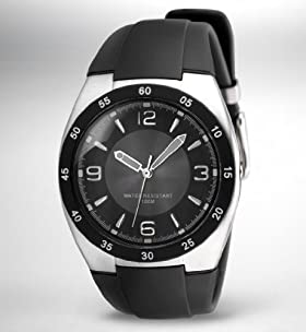 Round Face Water Resistant Analogue Watch