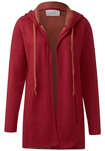 CECIL Lässige Strickjacke Damen crimson red L thumbnail