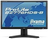 iiyama 27インチワイド液晶ディスプレイ LEDバックライト 昇降・スウィーベル機能搭載 HDMIケーブル同梱モデル マーベルブラック PLB2776HDS-B1