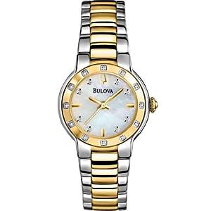 Bulova Ladies Diamond Watch 98R168
