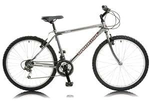 Barrosa Havana Men's Rigid Mountain Bike - Silver, 18 Inch