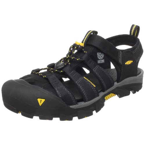 Keen Women's Commuter II Cycling Shoe,Black/Keen Yellow,7 M US
