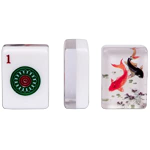 American Mahjong Set of 166 Tiles - ''Koi''