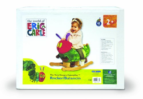 The World Of Eric Carle: The Very Hungry Caterpillar Rocker By Kids Preferred front-56643