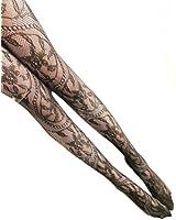 Broadfashion Women Sexy Fashion Fish Net Lace Patterned Pantyhose Tights Stockings