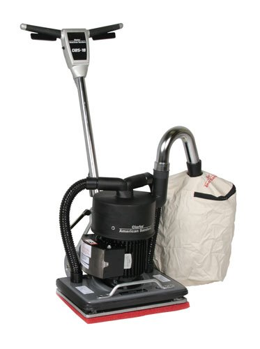 Clarke Floor Sander Orbital Dust Control Drum Floor