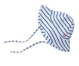 Zutano Sunhat, Periwinkle Breton Stripe, 24 Months