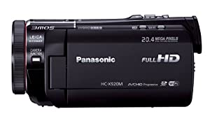 Panasonic Digital High-Vision Camcorder 3MOS Black HC-X920-K (Japan model) - International Version (No Warranty)
