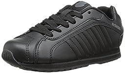 K-Swiss Verstad III PS Tennis Shoe (Little Kid),Black/Black,2 M US Little Kid
