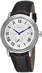 Raymond Weil Men's 2838-STC-00659 Maestro Silver Small Second Dial Watch