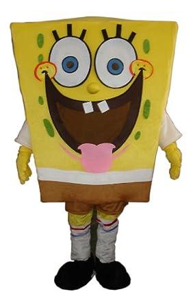 amazoncom procostume spongebob smile mascot costume