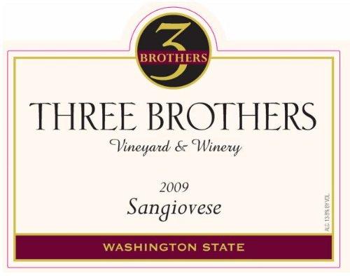 2009 Three Brothers Vineyard & Winery Rattlesnake Hills Sangiovese 750 Ml