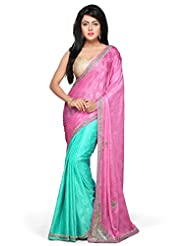 Bay & Blue High Quality Jacquard Partywear Saree