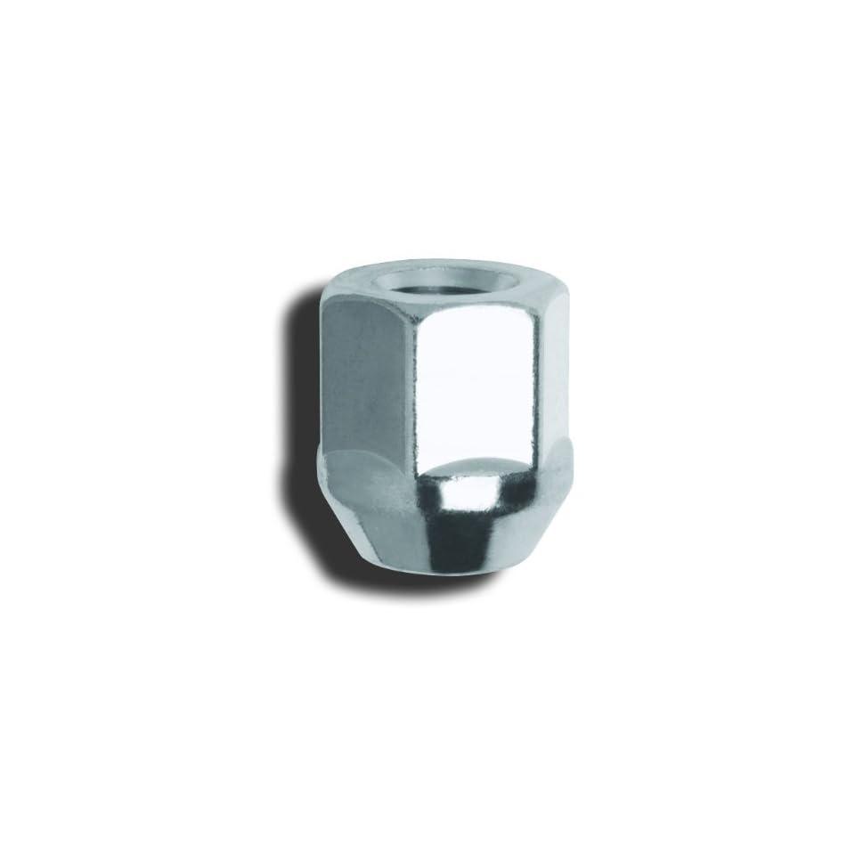 Gorilla Automotive 90048 Acorn Bulge Open End Chrome Lug Nuts  (14mm x 1.50 Thread Size)