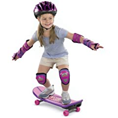 Buy Fisher Price Barbie Grow-with-Me 3-in-1 Skateboard by Fisher-Price