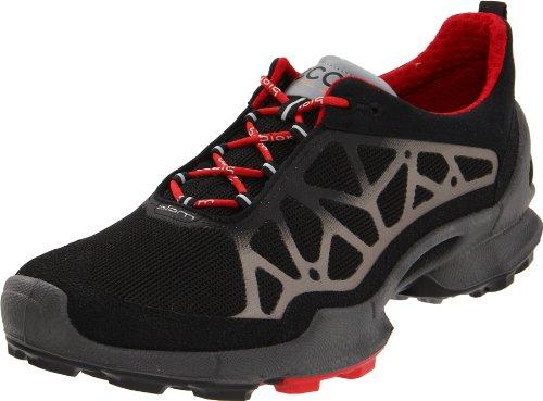 332ef44c9183e ECCO Men's BIOM 1.2 Trail Running Shoe,Black/Silver Metallic,42 EU/8 ...
