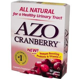 Azo Cranberry 450 Mg 50 Tablets front-401919