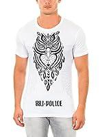 883 Police Camiseta Manga Corta Owl (Blanco)