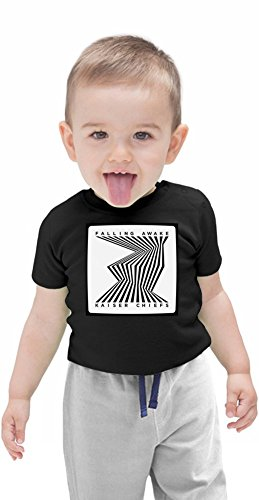 Kaiser Chiefs Falling Awake Organic Baby T-shirt Stylish Organic Baby T-shirt Fashion Fit Kids Printed Clothes by Genuine Fan Merchandise 6-12 Months