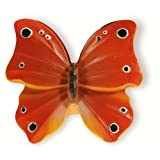 Siro Designs 72-106 Butterflies 47MM Themed Knob - Red/Or W/Blk/Wht Dots & Stripes