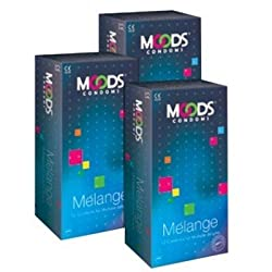 Moods Melange Condoms (12 Pcs) (Pack of 3)