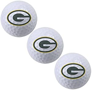 NFL Green Bay Packers 3-Pack Golf Ball Sleeve