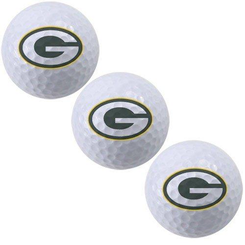 NFL Green Bay Packers 3-Pack Golf Ball Sleeve