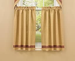 Park Designs Burlap and Check Tiers, 72 x 36\
