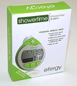 Efergy Showertime - WATER SAVING MONITOR