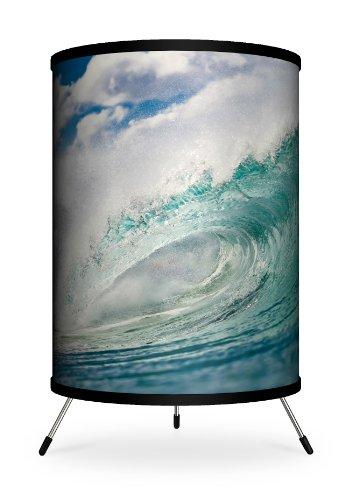 "Lamp-In-A-Box TRI-FAR-SDCLO Featured Artists - Sean Davey ""Cloud Puff Curl"" Tripod Lamp"