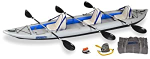 SE465FT_D Sea Eagle FastTrack 465ft Inflatable Kayak Deluxe Package
