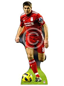 Steven Gerrard Lifesize Cardboard Cut-out from Star Cutouts