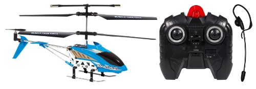 World Tech Toys Gyro Heli Command 3.5Ch Electric Rtf Voice Control Rc Helicopter