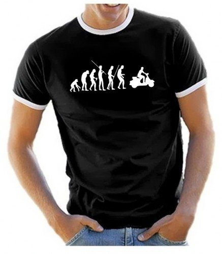 coole-fun-t-shirts-t-shirt-scooter-evolution-vespa-roller-scooterist-ringer-schwarz-l-10623-schwarz-